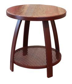 Bayshore Round End Table