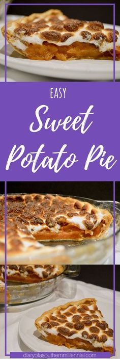 With Thanksgiving only a few weeks away, you'll need to start planning on what to cook and bring! How about giving this easy sweet potato pie recipe a try?!