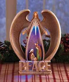 Lighted Nativity Angel|The Lakeside Collection $9.95