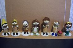 7 Different Vintage Sea Shell People Figurines | eBay