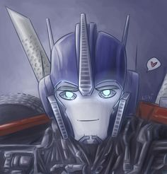Optimus defeated the decepticons....using cuteness alone - they didn't even stand a chance.