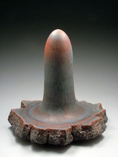 "John	Utgaard	 Recurrent Relic,	 2012	 glazed earthenware	 27"" x 26"" x 25"""