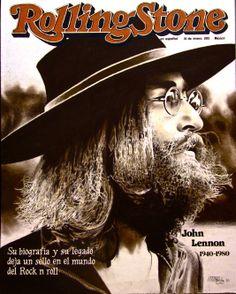 The Beatles fan art : John Lennon (Sepia Tone style) Rock Roll, Pop Rock, Rolling Stone Magazine Cover, John Lennon And Yoko, John Lennon Beatles, Billboard Magazine, Music Magazines, Vintage Magazines, The Dark Knight Rises