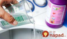 Stačí pridať do prania TÚTO surovinu a škvrny z bieleho prádla zmiznú ako mávnutím prútika!