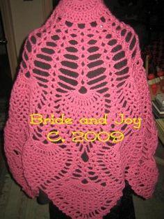 Crochet Pineapple  Shawl patterns