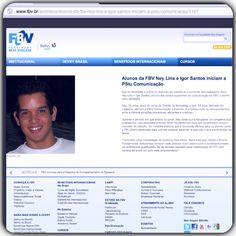 Os sócios da PSIU, Ney Lins e Igor Santos, são destaque no site da Faculdade Boa Viagem, em uma matéria sobre empreendedorismo ainda na faculdade.