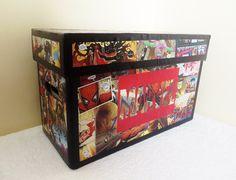 Comic Book Storage Box - Made to Order & Comic Book Room Ideas - Bing Images   Comics   Pinterest   Comic ... Aboutintivar.Com