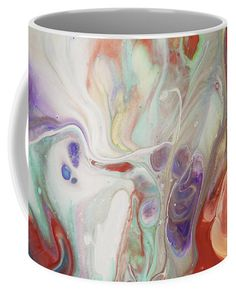 Alien Worlds. Abstract Fluid Acrylic Painting Coffee Mug for Sale by Jenny Rainbow Alien Worlds, Mugs For Sale, Fluid Acrylics, Fine Art Photography, Coffee Mugs, Rainbow, Abstract, Gifts, Painting