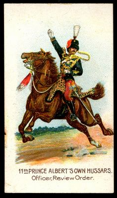 Cigarette Card - 11th Prince Albert's Own Hussars