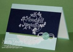 Stampin' Up! Heartfelt Sympathy Card