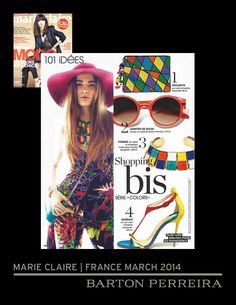 83d98082c0c Barton Perreira · Marie Claire France-featuring FELDON frame