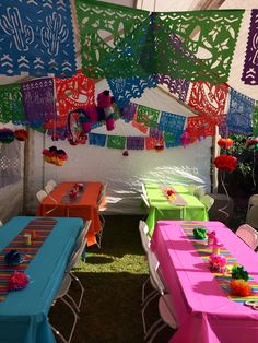 Mexican Themed Party Fiesta Credit Banners Mexican Party