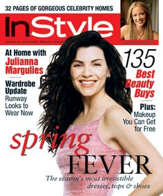 InStyle Magazine Covers: 2000 - March, Julianna Margulies from #InStyle