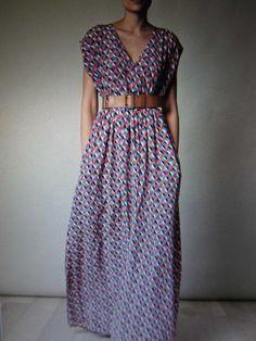 easy to sew maxidress Pinterest