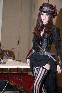 Steampunk Cosplay, Mode Steampunk, Style Steampunk, Victorian Steampunk, Steampunk Clothing, Steampunk Fashion, Gothic Fashion, Steampunk Lingerie, Steampunk Wedding