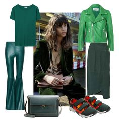 WEEKLY OBSESSION Color Blocking, Polyvore, Leather, Image, Pink, Fashion, Moda, La Mode, Hot Pink