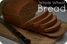 Whole Wheat Bread Recipe & Tutorial