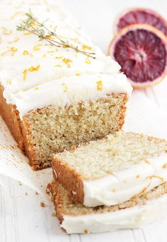 A delicious whole orange tea cake, that starts with a whole orange and is topped off with a cream cheese icing. Perfect for the brunch table. Strudel, Tea Cakes, Cupcake Cakes, Cupcakes, Just Desserts, Delicious Desserts, Orange Tea, Whole Orange Cake, Cake Recipes