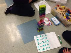 Guided Math: Part 2 (Accountability and Management) Holding students accountable during math centers as well as a management freebie to use during guided math.