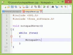 تحميل برنامج Notepad++ 6.4 المفكرة الاحترافية نود باد