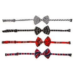 4 Dog Bowties in Stripes - Beyond the Rack