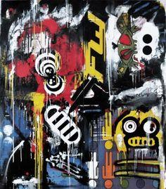 "Saatchi Art Artist Zsolt Gyarmati; Painting, ""Plasterocalipse Full of Walls Final Judgment Sentenced to Rectum"" #art"