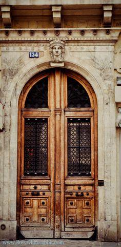 Beautiful door, Paris