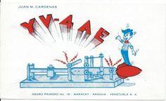 QSL 1961 Venezuela Morse Key Aragua Radio Card   eBay