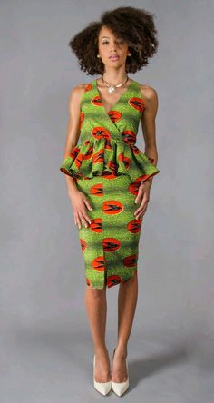 Cutie Short Ankara Gown Styles for Pretty Ladies – DeZango Fashion Zone African Dresses For Women, African Print Dresses, African Attire, African Wear, African Fashion Dresses, African Women, African Prints, African Style, African Clothes