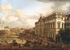 Canaletto, painter of Warsaw-Poland 1764-1780