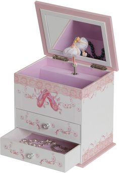 Cristiana Ballerina Musical Jewelry Box 925W x 8H in JEWELRY