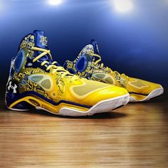"Hard work led to Stephen Curry being in ""The Zone."" Celebrate his 54 point MSG outburst with this Anatomix Spawn PE"