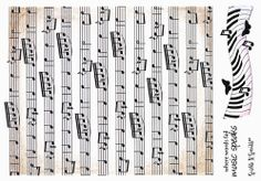Stamp Set 427 - Music Backgrounds