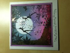 This is one of my cards made with Lavinia stamps