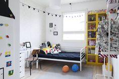Lapsiperheen talo on täynnä moderneja ja oivaltavia ideoita