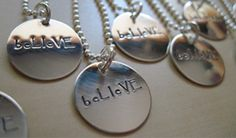 Custom Hand Stamped Silver Jewelry by Mountain Girl Silver