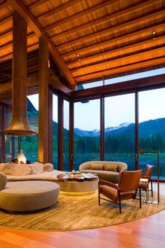 Magni Design - Aspen   Organic Elegance Modern Fireplaces, Aspen, Organic, Windows, Interiors, Elegant, Projects, Design, Dapper Gentleman
