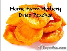 Dried Peaches, Order now, FREE shipping in New York NY - Free New York SuperAds