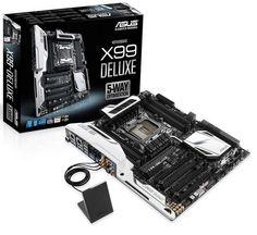 Reveladas novas imagens do ASUS X99 Deluxe