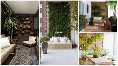 Há algum tempo o jardim vertical vem ganhando mais espaço nos projetos decorativos, e a ideia de adotar esse tipo de elemento é ideal para dar o toque verde na decor até mesmo quando