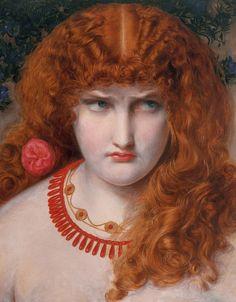 Frederick Sandys (English, 1829-1904). Helen of Troy