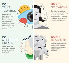 This Infographic Will Show You What's Killing Your Creativity via Brit + Co.