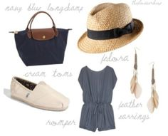 perfect summer outfit!...determined to look good in a romper!
