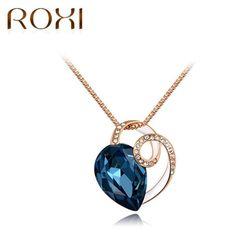 ROXI BLUE DIAMOND NYAKLÁNC 18 KARÁTOS ARANY BEVONATTAL