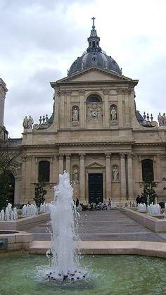 Paris,Sorbonne Universität #Architecture www.plaisirsdefrance.co.za