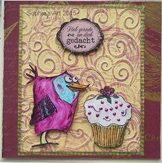 Sophie's Art: Cupcake...
