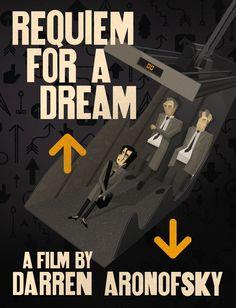 Rick Murphy art for Requiem For a Dream.