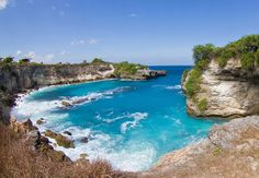 The blue lagoon, Nusa Ceningan