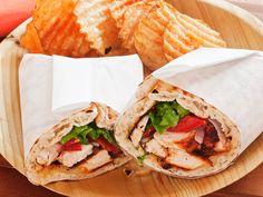 Creole Chicken Wraps recipe from Guy Fieri via Food Network