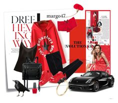"""na sportowo"" by margo47 ❤ liked on Polyvore featuring Post-It, Hemingway, COSTUME NATIONAL, La Perla, McQ by Alexander McQueen, adidas Originals, CUSTO LINE, Dolce&Gabbana, Porsche and OPI"